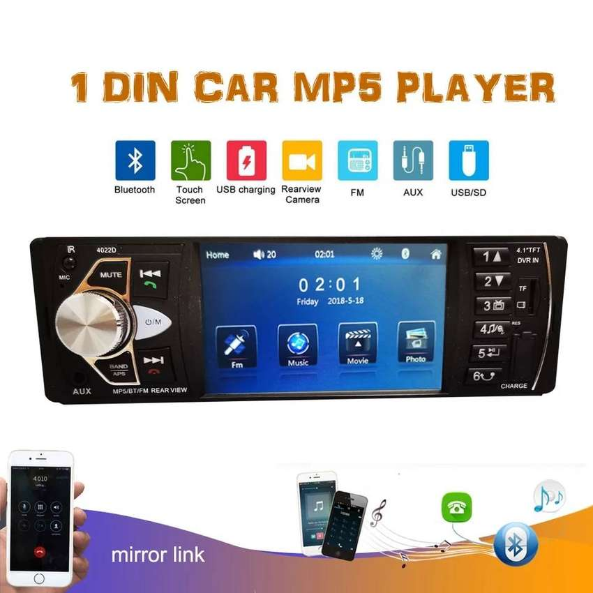 Car Mp5 player with Gift Samsung Mobile Car Charger 0