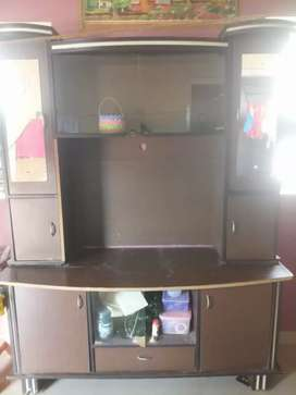 Led TV showcase with good condition
