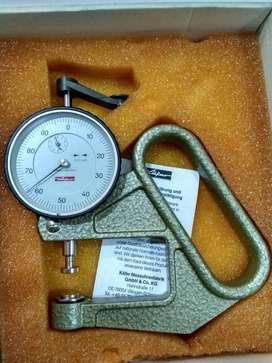 K 50/2C Kafer made in Jerman Analog Dial Thickness gauge