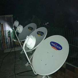 Indovision Mnc Vision Parabola sinyal cerah cemerlang tahan hujan