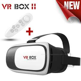 3D VR Box Virtual Reality box with Remote for 3d gaming