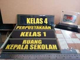 Papan Akrilik Penunjuk Nama Harga Termurah Terpercaya Se Kota Lampung