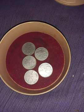 25 paise coin per coin 300 rs