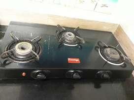 Prestige triple gas stove