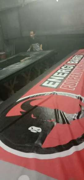 Tempat sablon umbul umbul dan giant flag