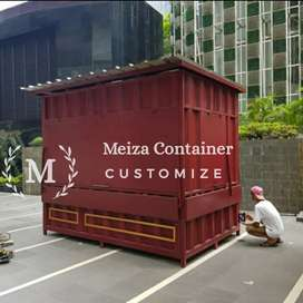 Booth Container KEDAI |Container Cafe Nongkrong | BOOTH coffee *3