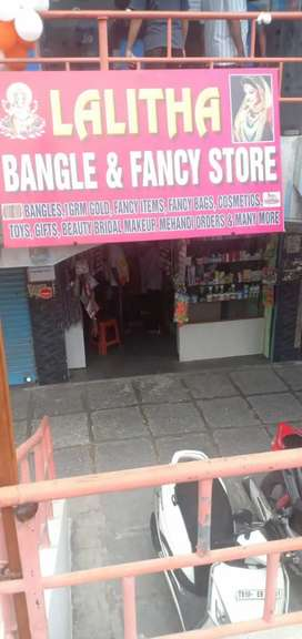 Bangles and fancy store