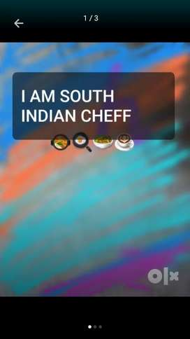 I AM SOUTH INDIAN CHEFF(89783684five 2)
