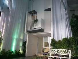 Myza Rumah Full Furnished di Pusat BSD, DP Ditanggung Developer