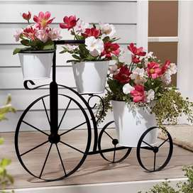 Home decoration flower stand and bottle stand