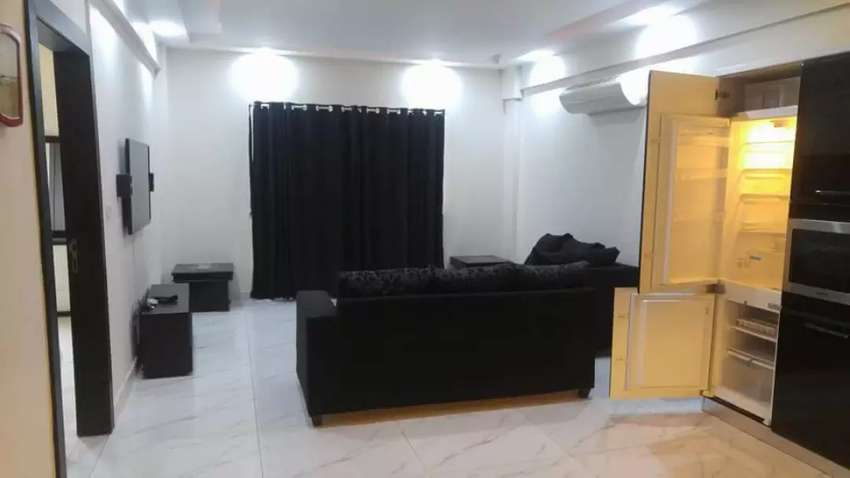Bahria heights furnish one bed room flat on rent phase 4 bahria 0