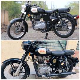 Royal Enfield classic 350 modified 2 Silencer..