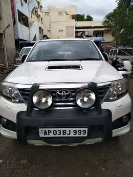 Fortuner automatic 2014