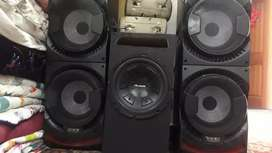 Armani woofer n  amp   with full wiring