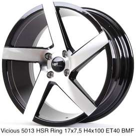 Velg Racing Mobil Brio VICIOUS 5013 HSR R17X75 H4x100 ET40