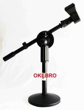 stand mic duduk holder model jepit