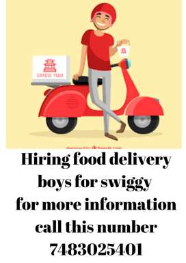 Salary 20000/Mysore/food delivery job