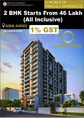 2 bhk smart homes on NIBM road  at Rs.46 lac only