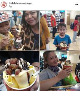 Dicari Pegawai Ice Cream Roll Hulala cabang BG Junction