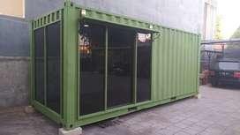 Container office cafe booth replika