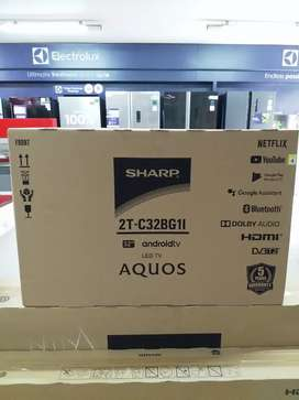 TV 32 inch ANDROID LED SHARP AQUOS Tipe :2T-C32BG1I Harga Spesial