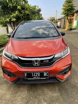 Dijual Murah Jazz Rs CVT 2018 Beli dari Baru