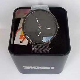 Skmei 9185 Original Stainless Simple Waterresist jam tangan malang