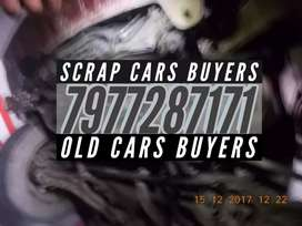 Abandoned junked rusted crashed cars scrap dealers