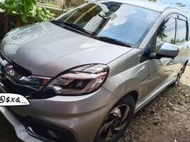 Honda Mobilio Matic, plat R, pajak Baru, km 100