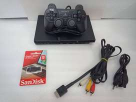 PS2 16GB COMPLETE 10 GAME WITH ALL NEW ACCESSRIES WITH 1 MONTH WARRANT