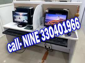 Full set desktop running with lcd monitor just 4,999/- & warranty call