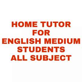 Home tutor for CBSE and ICSE students(class 5 to 9)