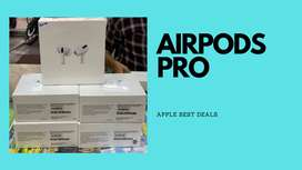 Airpods pro available new with warranty available