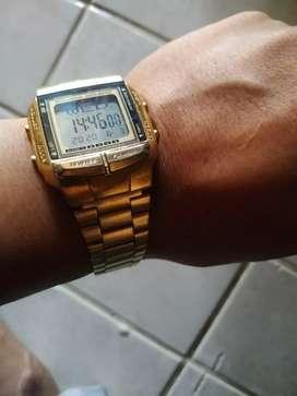Jam tangan casio data bank