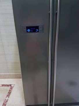 samsung fridge 675 l side by side