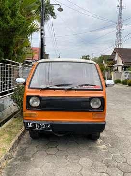 Jual mobil daihatsu minicab L100 taun 1982 cocok bikin cafe NEGOO !!