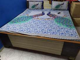 6 × 6 bed with Mattress