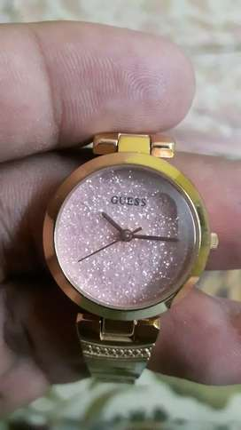 Guess brand new watch in running no scratches