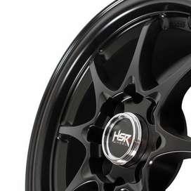 Pelek Agya TRD New - HSR Hiroshima Ring14 Semi Matte Black