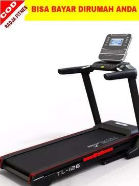 alat olahraga treadmill tl 126 motor 4 hp