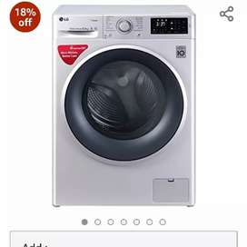 Brand New LG 6.5 kg Washing Machine Mrp 37990 Offer 20999 With Bill