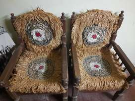 Sofa set for sale two plus three seater plus one table price 6000