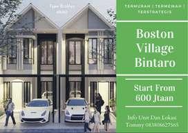Jaminan Untung 2LT 600Jtaan Nego Free Canopy Boston Village Bintaro