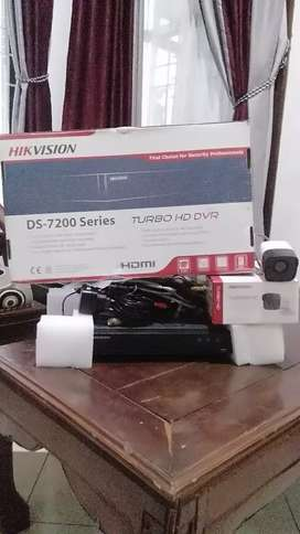 Dijual dvr turbo hd & camera cctv 5Mp indoor / outdoor  merk hikvision