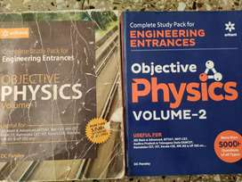 JEE, CET, BITSAT book for Physics by DC Pandey
