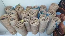 Krakat Dimsum dr Bambu bagus lebih menyerep drpd yg plastik