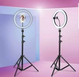 26cm Selfi Ring Light + 7.5ft tripod stand