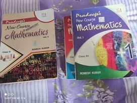 Pradeep class(11,12)math book