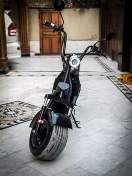Harley Fat Tyre Electric bike