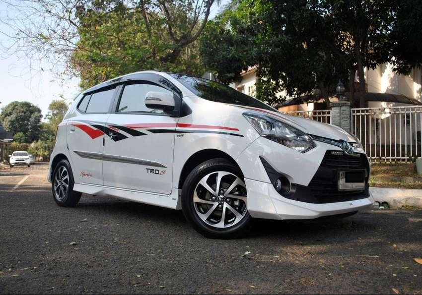 Full Orisinil Toyota Agya TRD matic 2018 KM7rb Asli 0